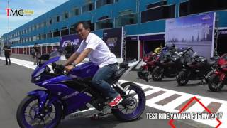 Video Test Ride All New Yamaha R15 MY 2017 MP3, 3GP, MP4, WEBM, AVI, FLV Desember 2017
