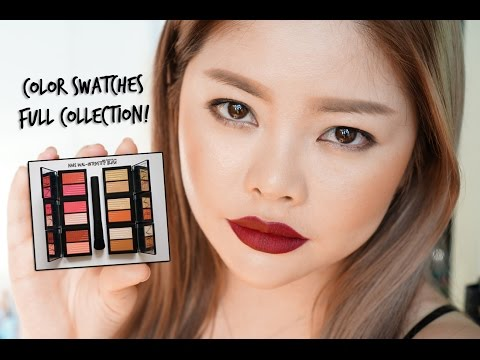 Color Swatches: Nars Dual-Intensity Blush (Full Collection)