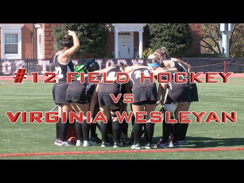 #12 Field Hockey vs Virginia Wesleyan