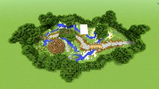 Minecraft Garden Decoration Ideas! Perfect location for your Survival Houses