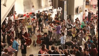 Download Lagu 高鐵新竹站 快閃 Flash Mob: Ode to Joy /  Do You Hear the People Sing 2014-03-30 Mp3