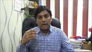 Central India's leading Commerce educationist Mr.Rahul Rai with Nagpurinfo