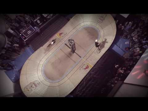 smallest - For more mini drome visit http://win.gs/1graAL1 Milan was the setting for the Italian debut of the Red Bull Mini Drome, where Toms Alsbergs came in first, it...