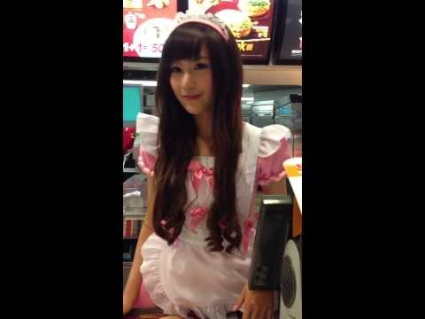 麥當勞推出女僕全餐?