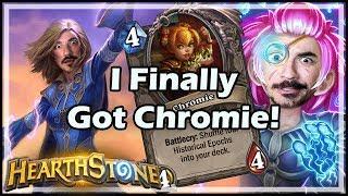 I Finally Got Chromie! - Witchwood / Hearthstone