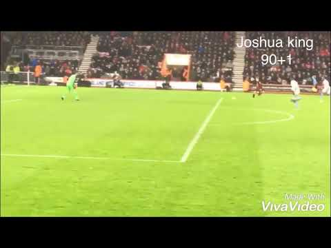 Joshua king goal 90+1 mins v West Ham 19th January 2019