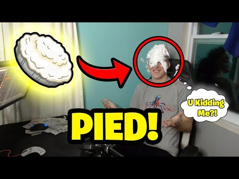 Funny face - Tfue Gets Pied In The Face   Fortnite Funny Moments & Epic Fails