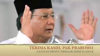 Download Video Denny Siregar TERIMAKASIH PAK PRABOWO MP3 3GP MP4
