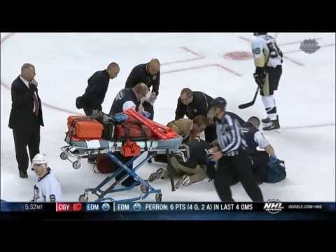 Shawn Thornton Attack on Brooks Orpik (HD)