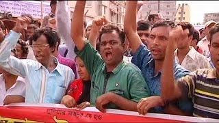 Bangladeşli işçiler öfkeli: 'Tazminatımızı ödeyin'