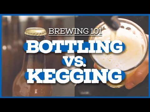 HOME BREWING 101: Bottling vs. Kegging