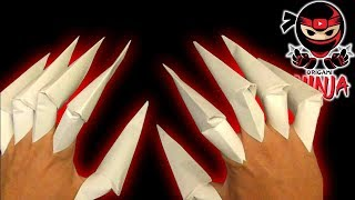 Video How to make: Origami Claws MP3, 3GP, MP4, WEBM, AVI, FLV November 2017