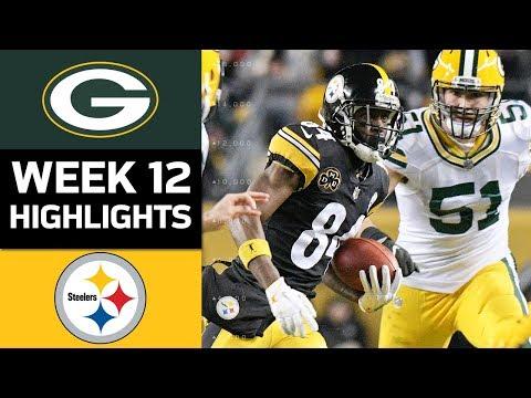 Video: Packers vs. Steelers   NFL Week 12 Game Highlights