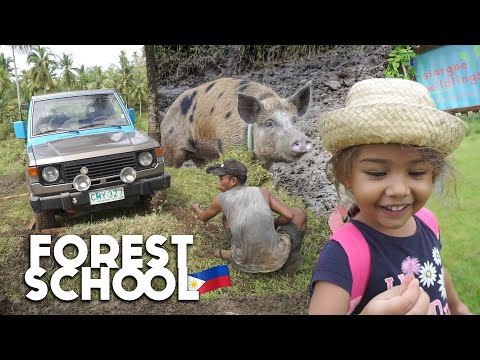 Can't Believe PHILIPPINES Has THIS! Siargao Island WILD School