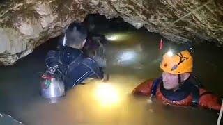 Video Thaïlande : le pessimisme grandit et l'oxygène diminue dans la grotte MP3, 3GP, MP4, WEBM, AVI, FLV Juli 2018