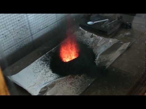 太神奇了!硫氰酸汞受熱造成惡魔招喚現象?!