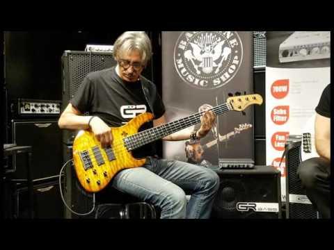 GR Bass presso BassLine - Milano - con Giorgio Santisi e Stefano De Donato