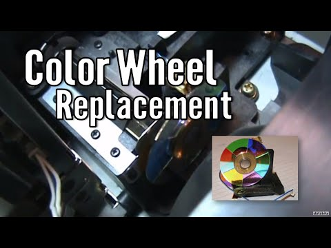 How to replace a Samsung DLP Color Wheel HLM507W BP96-00250A Part 1