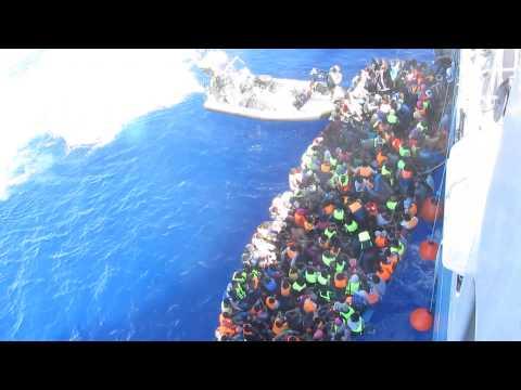 Visa film Sjöräddning KBV 001 Poseidon i Medelhavet 150727