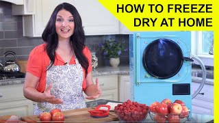 How to Freeze Dry at Home - Harvest Right Freeze Dryer Overview