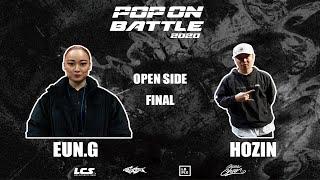 Eun-G vs Hozin – POP ON BATTLE 2020 Open side Final