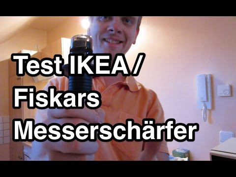 Test IKEA Messerschärfer | Test Fiskars Roll-Sharp Messerschärfer | Messerschärfer Test