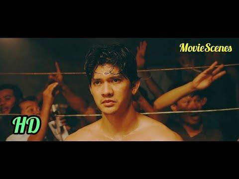 Jaka (Iko Uwais) vs Long Fei (Tiger Hu Chen)   Triple Threat (2019) Indonesia Subtitles