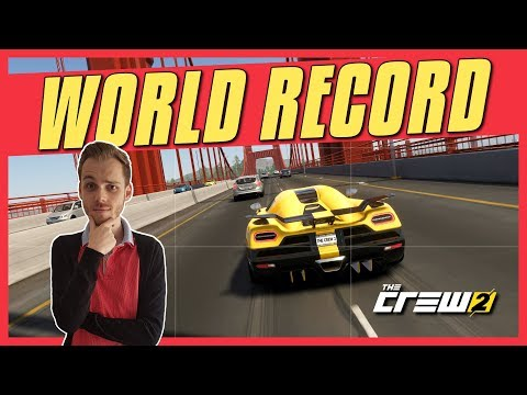 The Crew 2 WORLD RECORD: L.A. Hypercar Race Under 16 Minutes