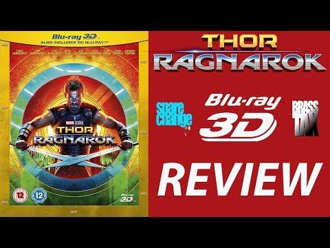 THOR RAGNAROK 3D Bluray Review | DTS HD