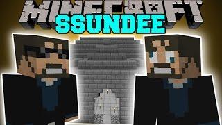 Minecraft: SSUNDEE MOD (DERP SSUNDEE, JAILBREAK,&MR CRAINER) Mod Showcase