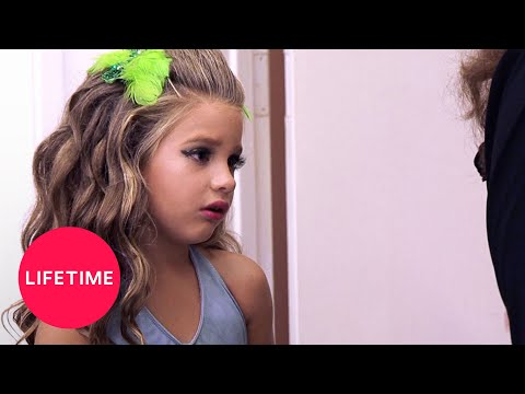 Dance Moms: Mackenzie Doesn't Feel Ready to Perform (Season 1 Flashback) | Lifetime