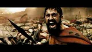 This is the final fight sequence in 300, the movie, leading up to the death of King Leonidas, the Spartans' fierce leader. Enjoy!
