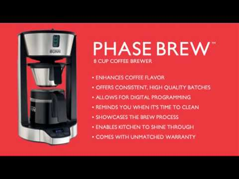 BUNN Phase Brew 8-Cup Coffee Brewer