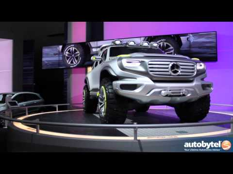 Mercedes-Benz Ener-G-Force Concept At The LA Auto Show
