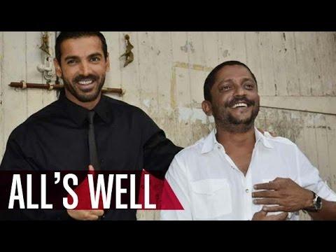 All is fine between John Abraham and 'Force 2' director Nishikant Kama...