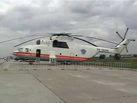 Mi-26T is the largest helicopter...