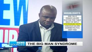 News Sources 4th August 2016 - The Big Man Syndrome