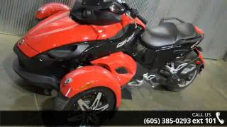 5. 2009 Can-Am Spyder Roadster SE5  - Vern Eide Motoplex - V...
