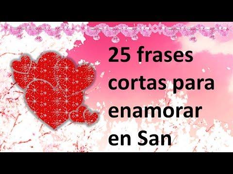 Frases de amor cortas - 25 frases cortas para enamorar en San Valentín