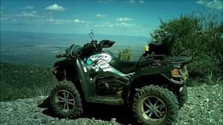 1. CF Moto C800EFS ATV Ride Up Mingus Mountain