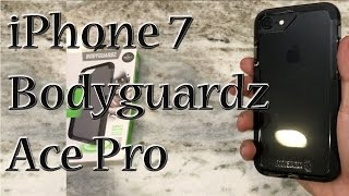 iPhone 7 Bodyguardz Ace Pro Case Smoke/Black | Unequal Technology