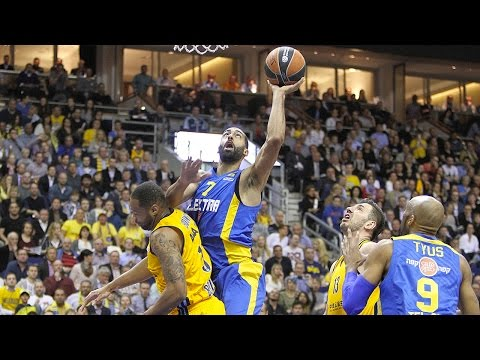 Highlights: Top 16, Round 14 vs. Maccabi Electra Tel Aviv