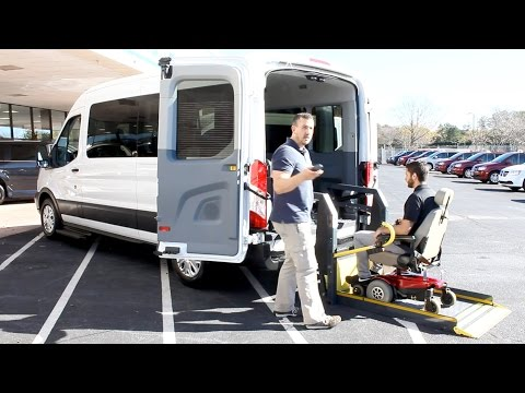 Ford Transit - Wheelchair Accessible, Customizable, Side or Rear Wheelchair Lift | AMS Vans