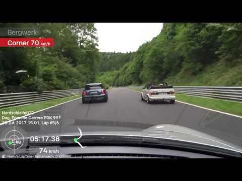 Mini cruising the Nurburgring HD