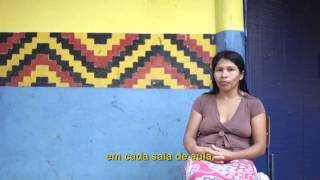 ivanildes, liderança indígena guarani