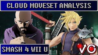 Cloud Trailer Moveset Analysis [Wii U/3DS]