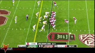 Tyler Gaffney vs Oregon (2013)