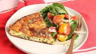 Oven Zucchini Frittata Recipe | Episode 1256 by Laura in the Kitchen