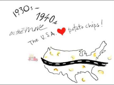 How the Potato Chip Got Its Groove