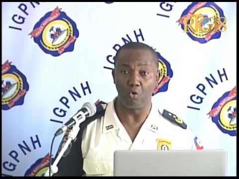Inspection Générale de la Police Nationale d'Haïti (IGPNH) / Bilan